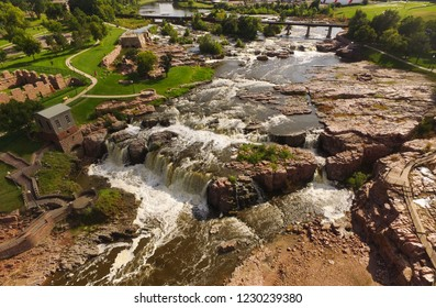 Sioux Falls, South Dakota on the Big Sioux River