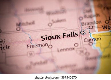 Sioux Falls. South Dakota. USA