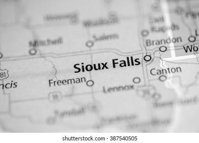 Sioux Falls. South Dakota. USA