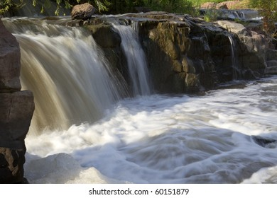 Sioux Falls Waterfall