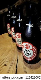 Siquijor, Philippines - 04 28 2018: Local Filipino beer