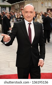 Sir Ben Kingsley arriving for the Iron Man 3 Premiere, Odeon Leicester Square, London. 18/04/2013 Picture by: Steve Vas