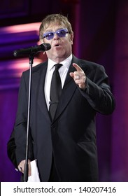 Sir Elton John on stage during the Life Ball 2013 held in Vienna, Austria. 25/05/2013