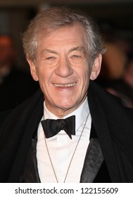 Sir Ian McKellen arriving for The hobbit Premiere, Odeon Leicester Square, London. 12/12/2012 Picture by: Alexandra Glen