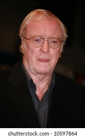 Sir Michael Caine attends the UK Premiere of Sleuth  at the Odeon West End, London.