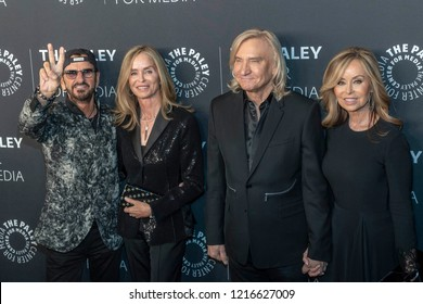 Sir Ringo Starr, Barbara Bach, Joe Walsh, Marjorie Bach attend Paley Honors in Hollywood: A Gala Tribute to Music on Television at Beverly Wilshire Hotel, Beverly Hills, California on October 25, 2018