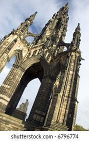 The Sir Walter Scott Monument, Edinburgh, Scotland