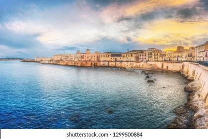 Siracusa, cartoline dalla Sicilia