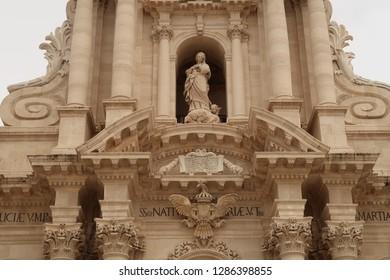 Siracusa of Sicily island