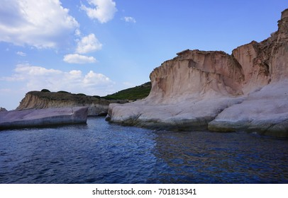Siren rocks in Greek mythology, a creature half bird and half woman who lured sailors to destruction by the sweetness of her song at Phokaia (Foca ), izmir, Turkey