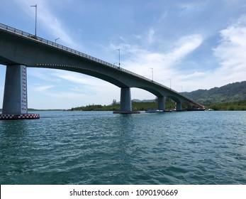 Siri Lanta Bridge in Koh Lanta Thailand