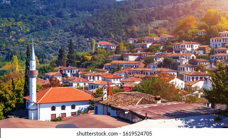 Sirince village in Izmir Province, Turkey.