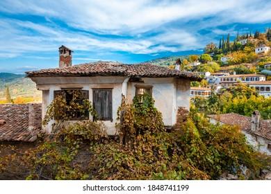 The Sirince Village street view. Sirince Village is populer tourist destination in Turkey.