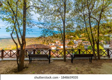 The Sirince Village street.view. Sirince Village is populer tourist destination in Turkey.