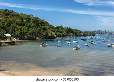 Sirius Cove on Mosman Bay in Sydney
