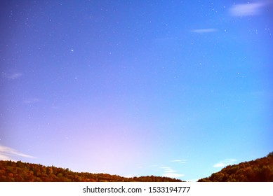 Sirius star in the night sky.Sirius is the brightest star in the night sky.