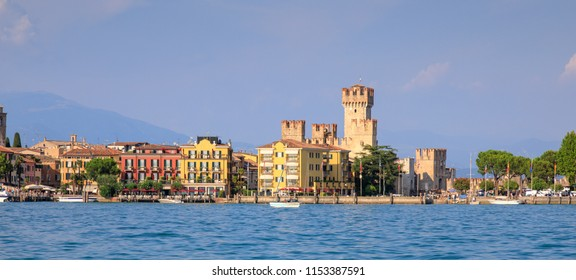 Sirmione is a beautiful old medieval town set on an isthmus on Lake Garda, the largest of the Italian lakes.  Sirmione is famous for its Roman remains as well as its fort and harbour.