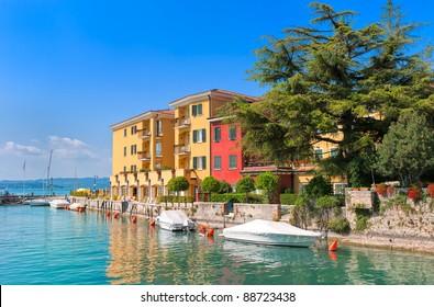 Sirmione on lake Garda, Italy