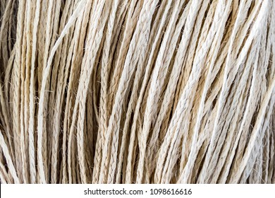 Sisal. Samples of brown woven sisal and natural fiber rope for Product handmade or Textile industry. local business or small Minor operator concept