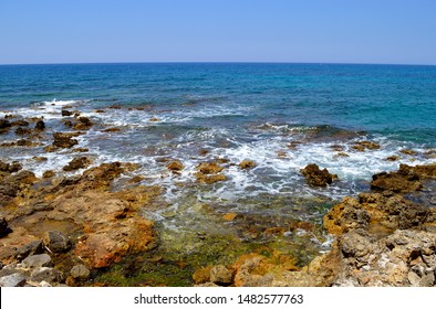 Sissi coast in Crete the largest and most populated of the Greek islands