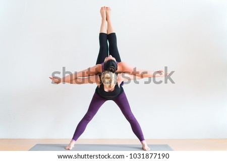 duo yoga poses for beginners  modern life