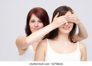 Sisters in spa