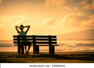 Sit back relax and enjoy the beautiful sunset view.