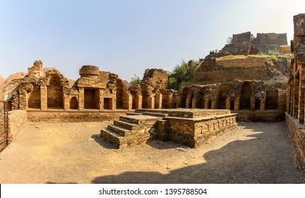The site of Budhish monastry at Takht i Bhai , KP, Pakistan.