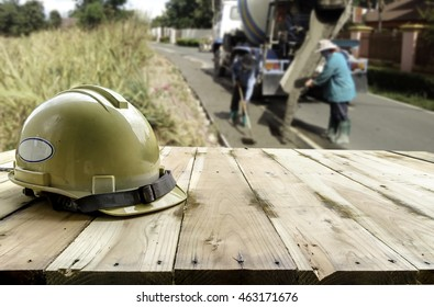 Site construction office and worker background