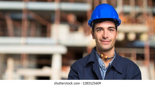 Site manager portrait