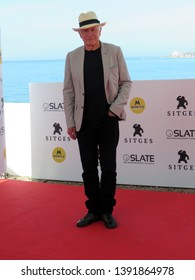 SITGES, SPAIN - October 11, 2018: 51st Sitges Film Festival - Photo call of Peter Weir (Grand Honorary Award)