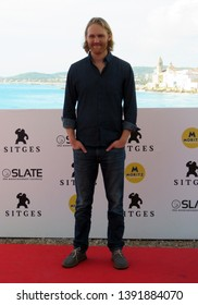 "SITGES, SPAIN - October 11, 2018: 51st Sitges Film Festival - Photo call of ""Overlord"" - Wyatt Russell"
