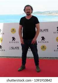 "SITGES, SPAIN - October 11, 2018: 51st Sitges Film Festival - Photo call of ""Tous les dieux du ciel"" - Jean-Luc Couchard"