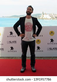 "SITGES, SPAIN - October 11, 2018: 51st Sitges Film Festival - Photo call of ""Superlópez"" - Dani Rovira"
