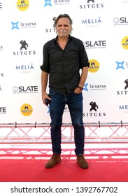 "SITGES, SPAIN - October 11, 2018: 51st Sitges Film Festival - Photo call of ""Keepers"" - Kristoffer Nyholm"
