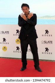 "SITGES, SPAIN - October 11, 2018: 51st Sitges Film Festival - Photo call of ""Abrakadabra"" - Nicolás Onetti"