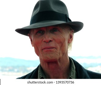 SITGES, SPAIN - October 12, 2018: 51st Sitges Film Festival - Ed Harris - Grand Honorary Award