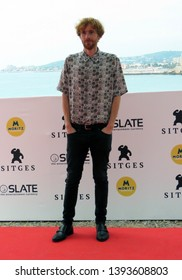 "SITGES, SPAIN - October 12, 2018: 51st Sitges Film Festival - Photo call of ""70 Binladens"" - Daniel Pérez Prada"