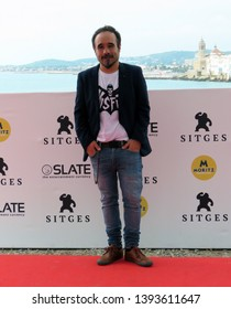 "SITGES, SPAIN - October 12, 2018: 51st Sitges Film Festival - Photo call of ""70 Binladens"" - Koldo Serra"