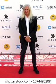 "SITGES, SPAIN - October 12, 2018: 51st Sitges Film Festival - Photo call of ""Nightmare cinema"" - Mick Garris"