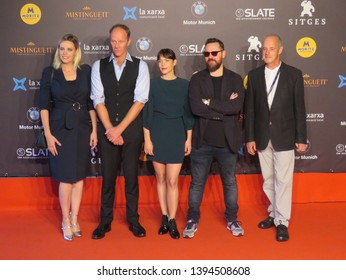 SITGES, SPAIN - October 13, 2018: 51st Sitges Film Festival - Red Carpet of festival jury