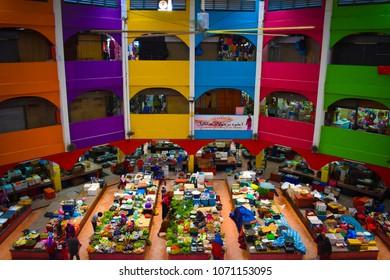 The Siti Khadijah Market (Malay: Pasar Besar Siti Khadijah) is a market in Kota Bharu, Kelantan, Malaysia.