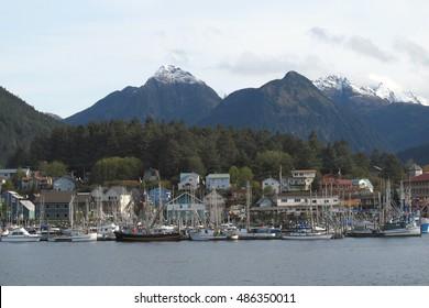 Sitka Harbor, Baranof Island, Alaska