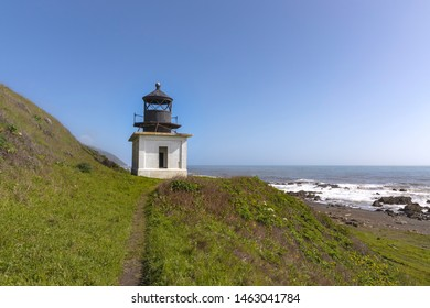 Sitting above a remote beach on the Lost Coast sits one of the more isolated lighthouses in California.