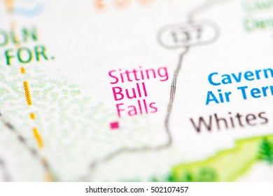 Sitting Bull Falls. New Mexico. USA.
