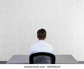 Sitting businessman 2.
