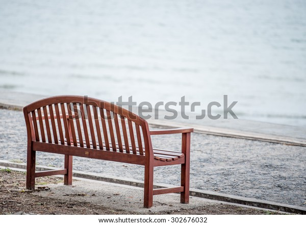 Sensational Sitting On Seaside Wooden Bench Make Stock Photo Edit Now Gmtry Best Dining Table And Chair Ideas Images Gmtryco