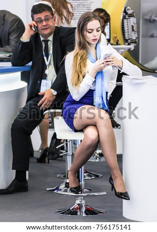 russian office girls