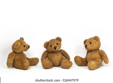sitting teddy bears