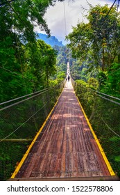 Situ Gunung Suspension Bridge is the longest suspension bridge, in the middle of the forest, in Southeast Asia. This bridge is located in Situ Gunung Nature Tourism Park, Sukabumi